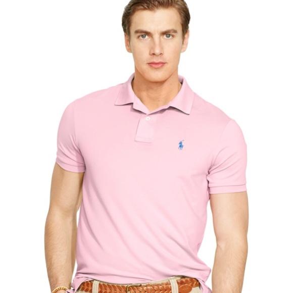 3d3035049ba6 Polo by Ralph Lauren Shirts | Xxl Light Pink Mens Polo | Poshmark